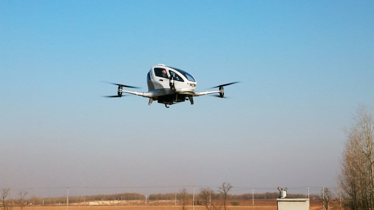 Ehang Passes First Demo Flight in US