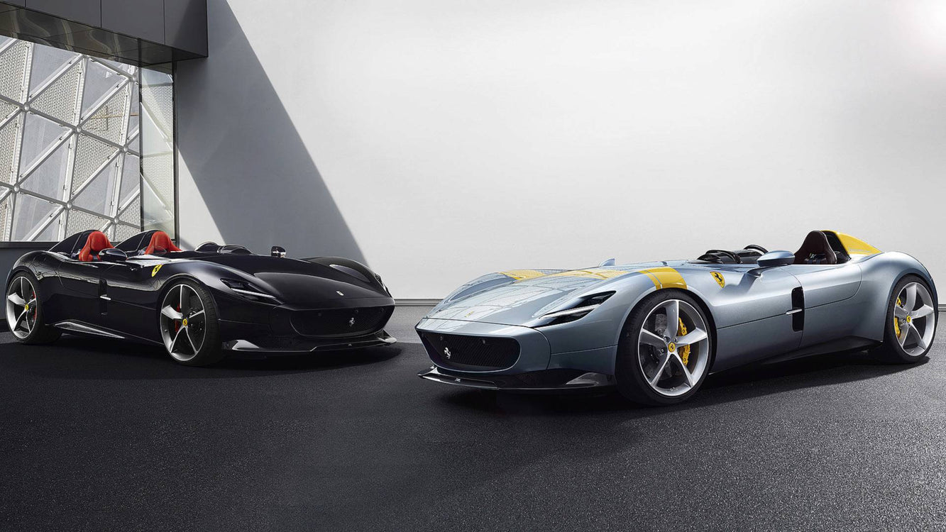 Ferrari Unveils Ultra-Limited Monza SP1 and SP2 Speedsters