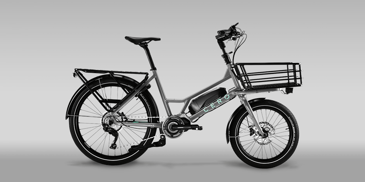 Cero One E-Cargo Bike - Your Environment Friendly Baguette Carrier