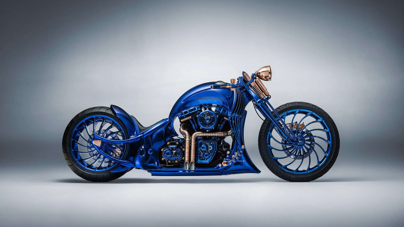 Harley-Davidson Blue Edition by Bucherer