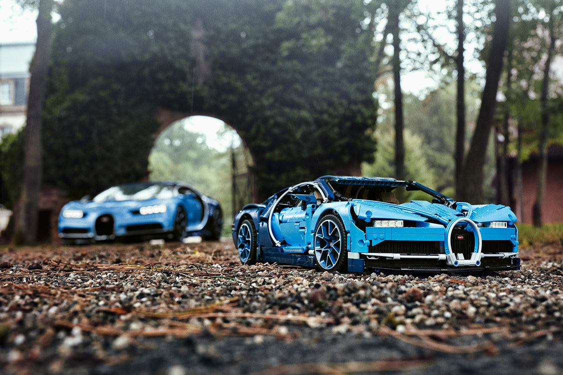 The new LEGO Bugatti Chiron is Nearly as Complex as The Real Thing