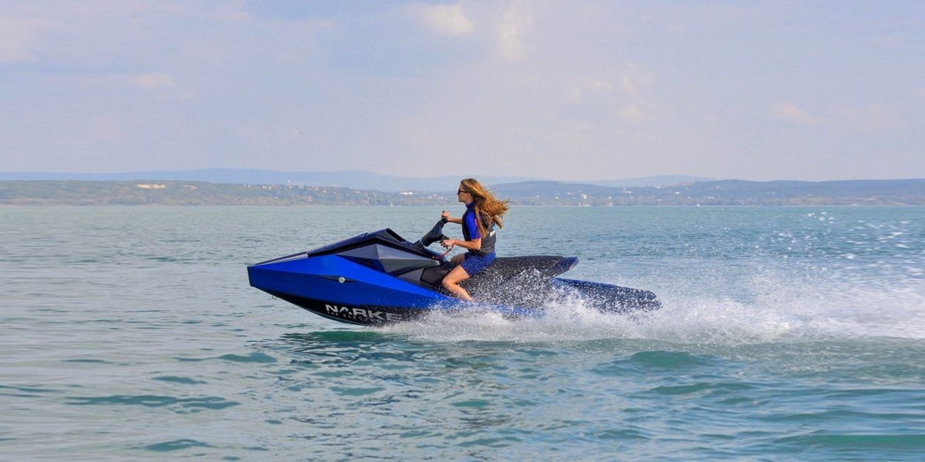 Narke Electric Jet Ski - Hear the waves