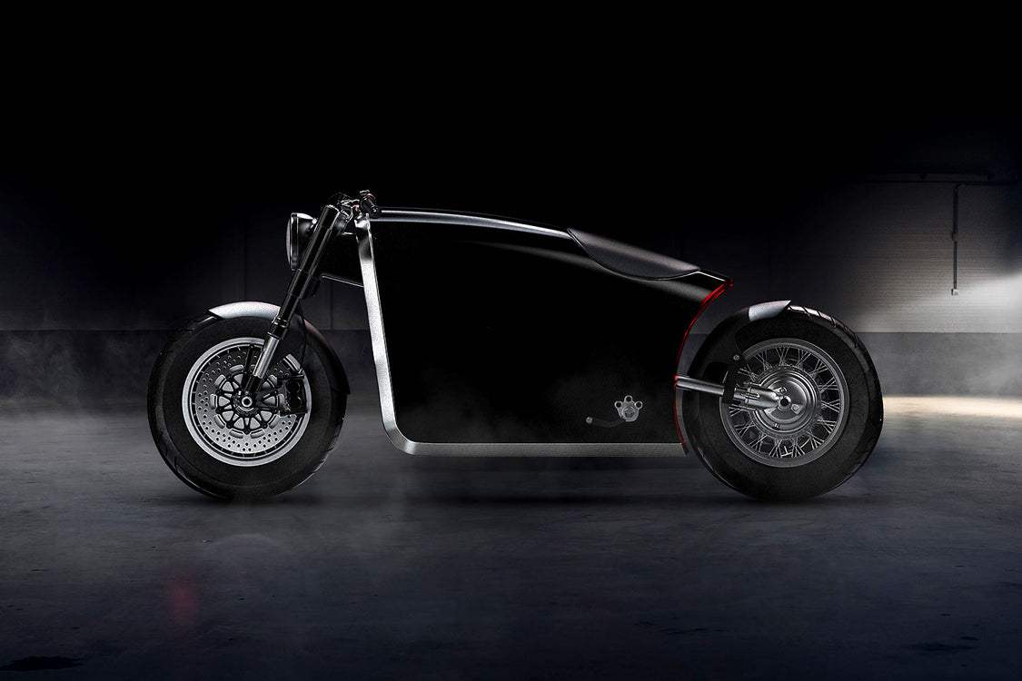 Bandit9's Newest Bobber is a Surreal Motorcycle from The Future