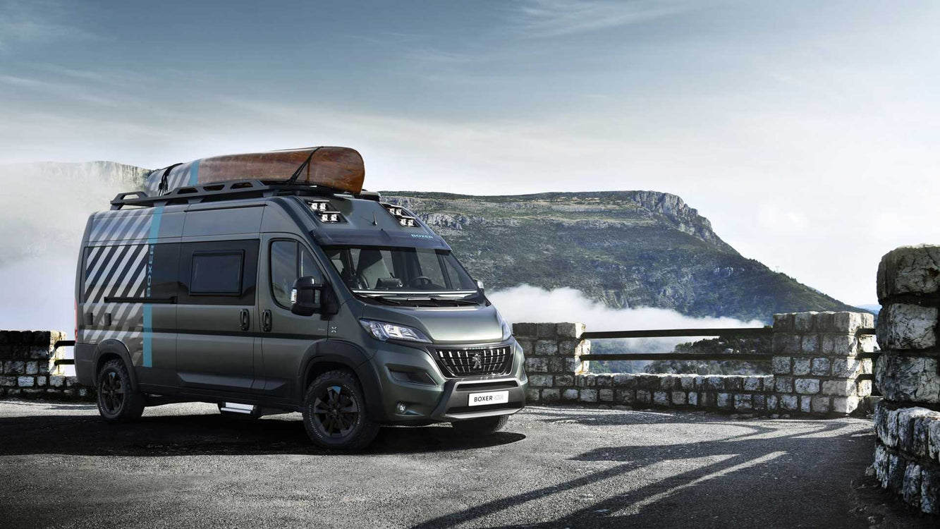 Go Anywhere with the Peugeot 4x4 Camper Van Concept