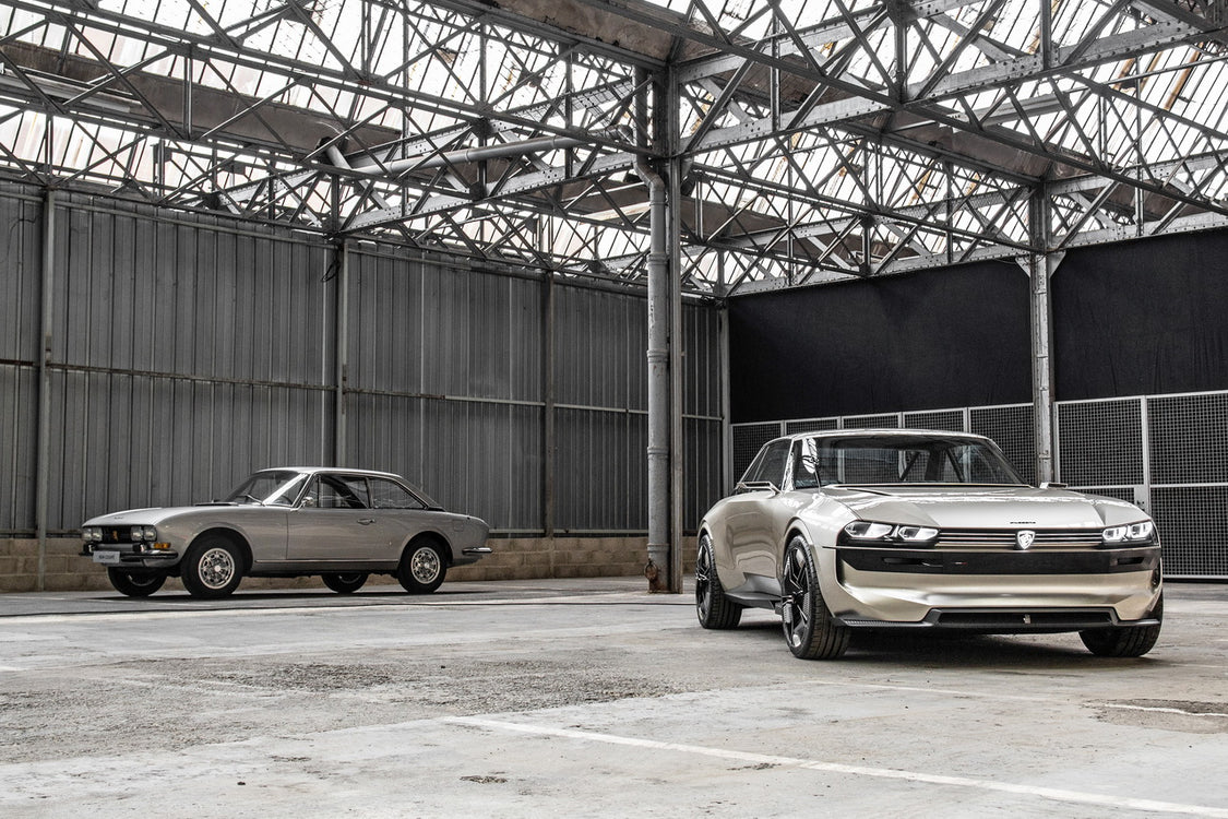 Peugeot Revives Iconic 504 with the e-Legend