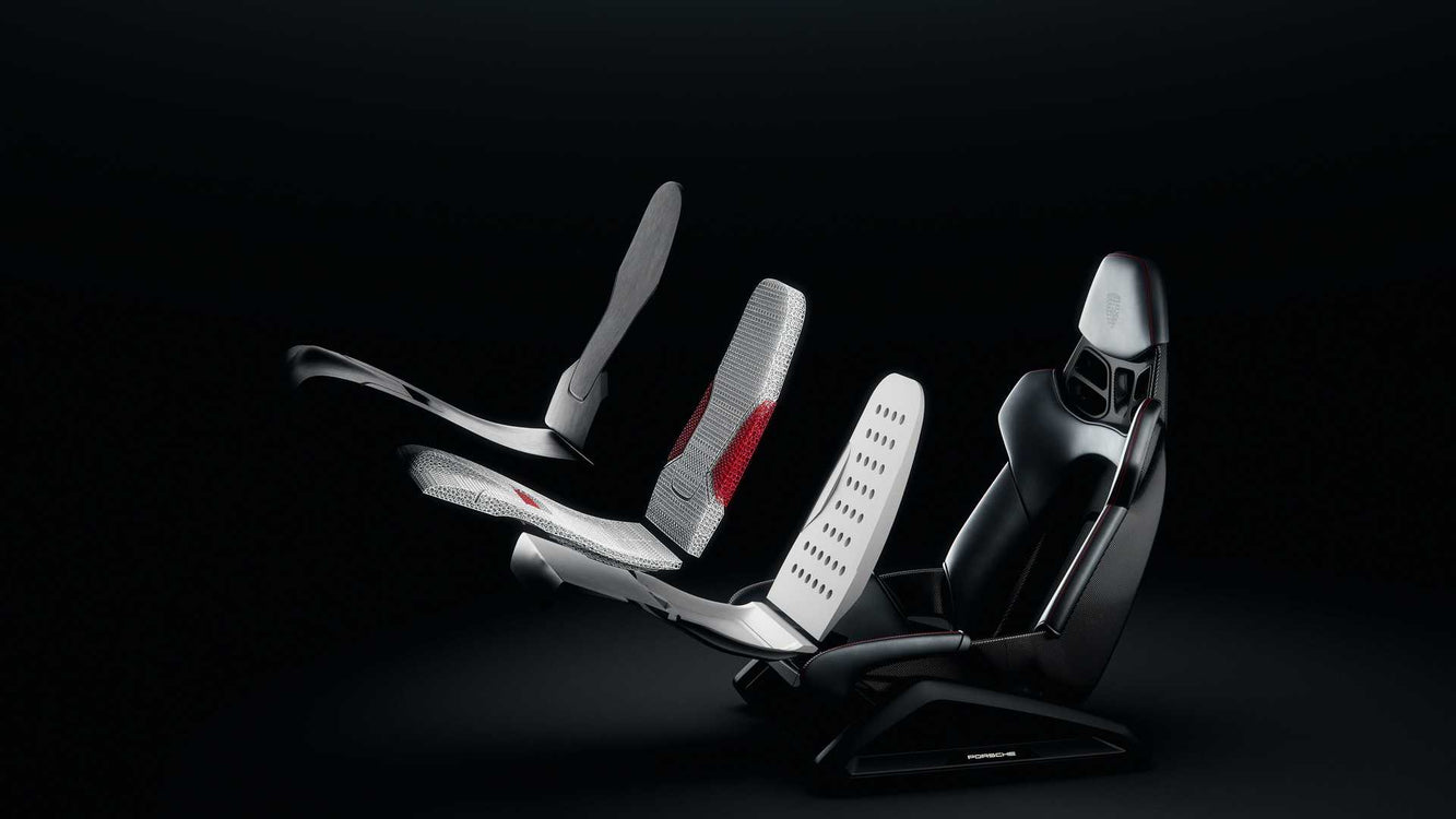 Porsche Soon to Offer 3D Printed Seats