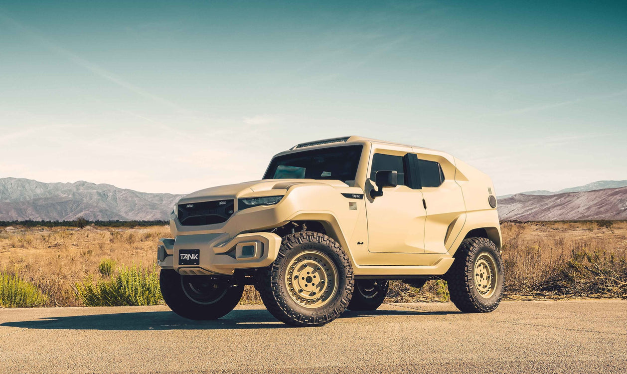 Rezvani Tank Military Edition - Weapons-Grade Luxury