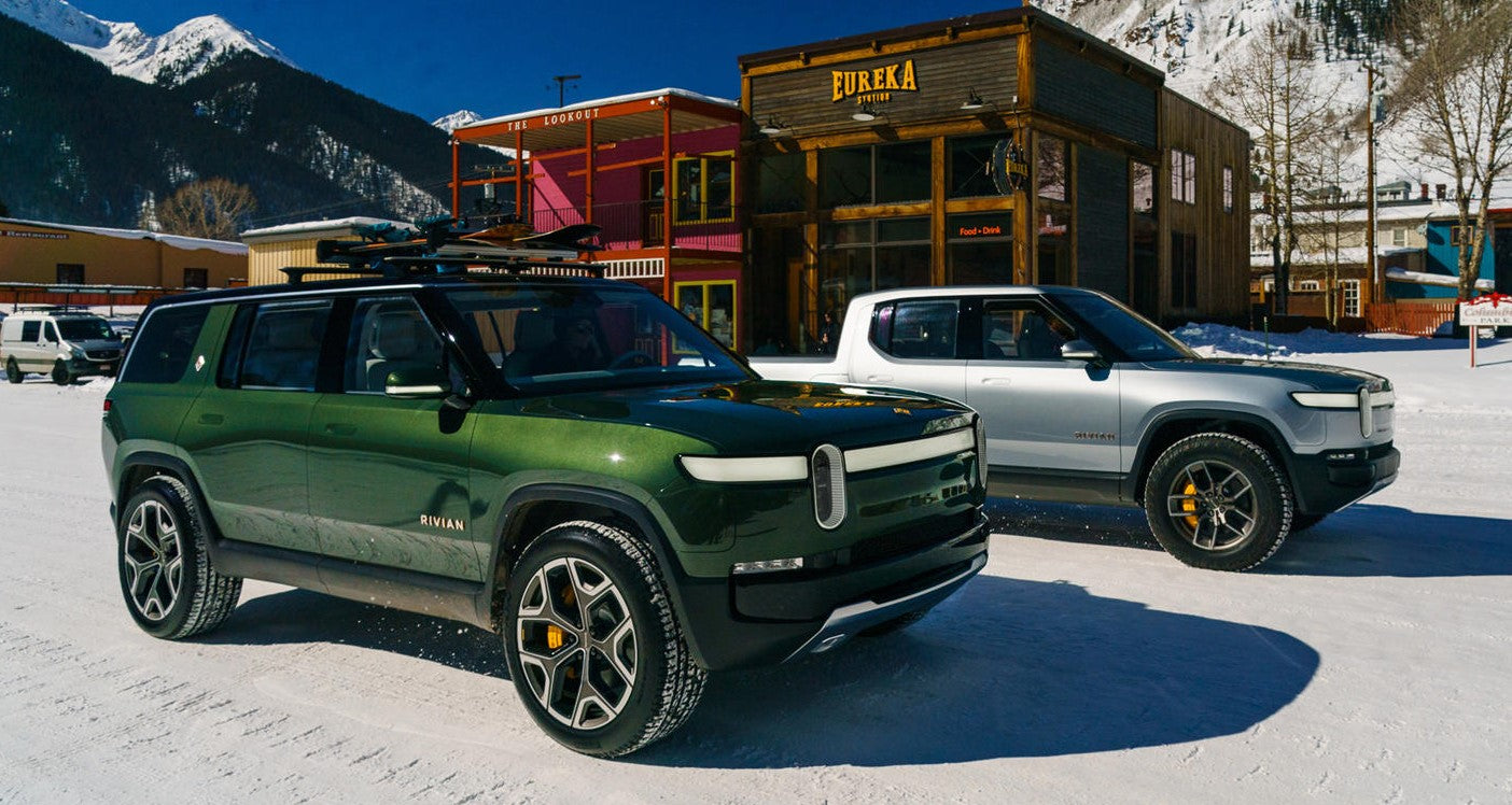 Rivian Trucks Will Be Adventure Ready and Alexa Equipped