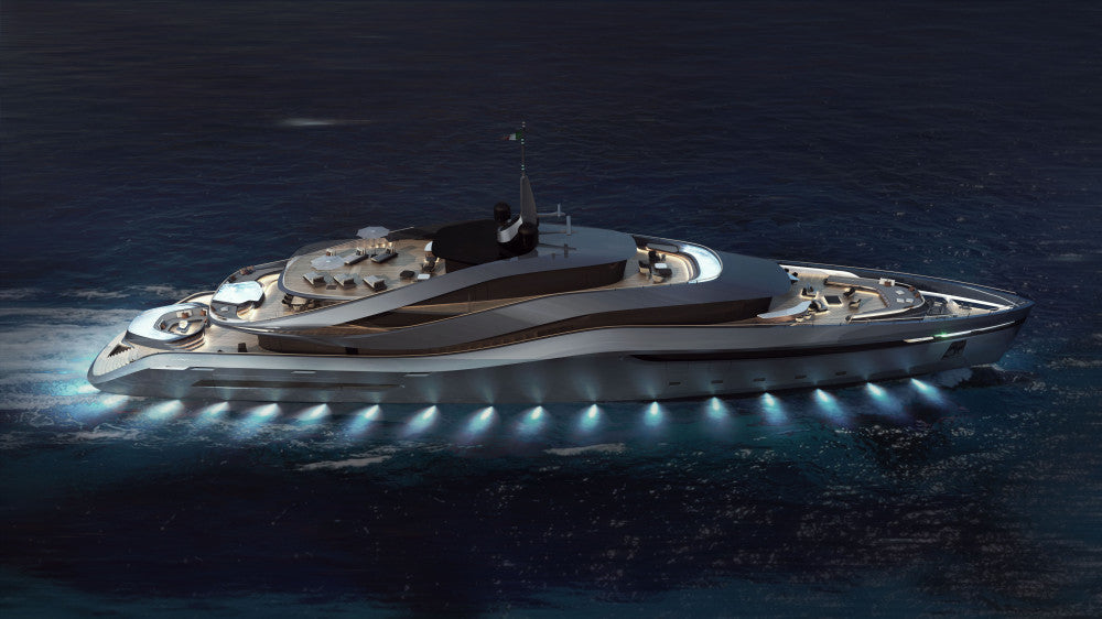 Aurea Yacht Concept by Pininfarina and Rossinavi