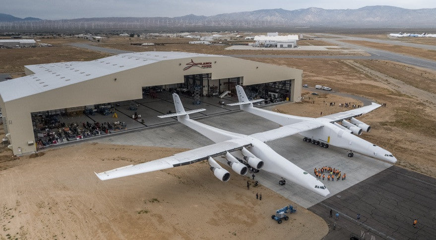 Stratolaunch, The World's Biggest Airplane Rolls Out of the California Desert