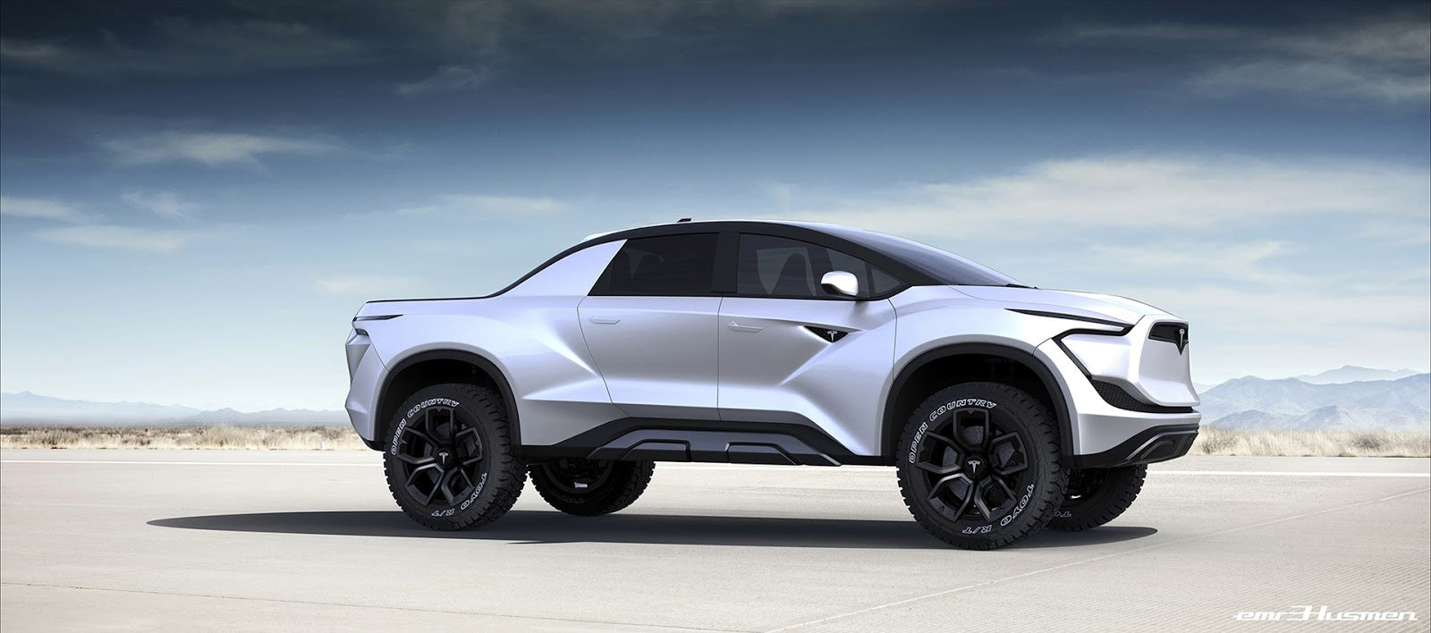 Tesla Model P Concept Hints Future of Pickups