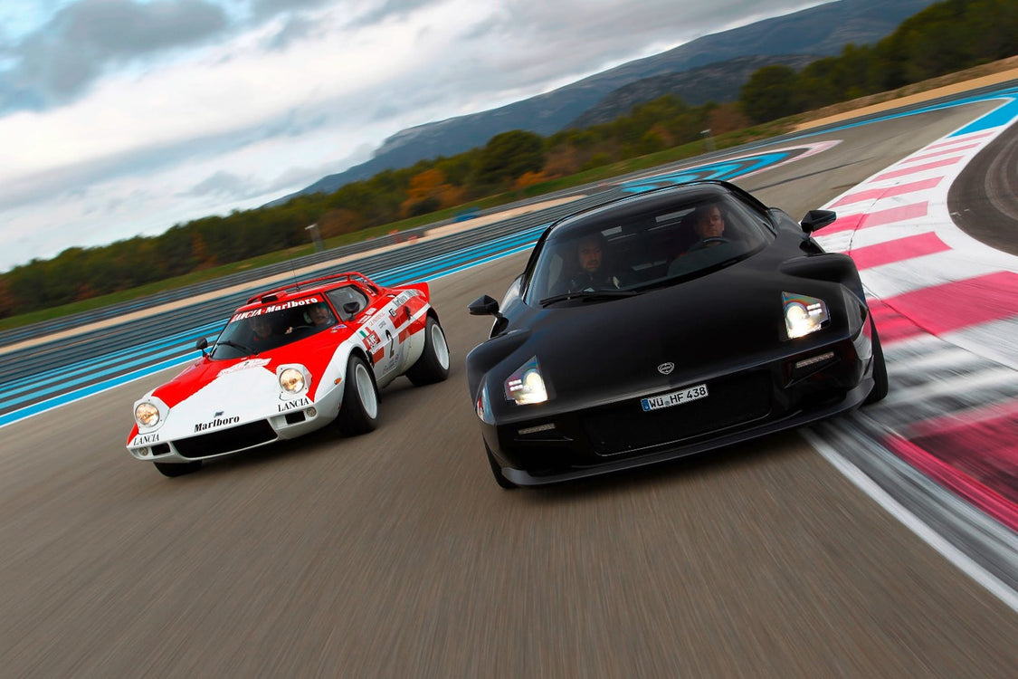 Revival of a legend, Lancia Stratos Revs Back to Life