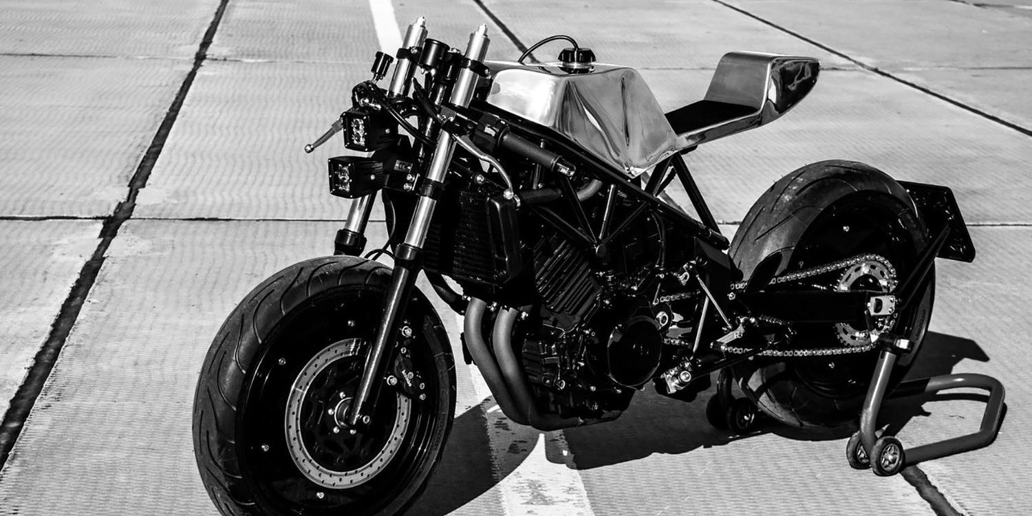 The USHBA Yamaha TRX850 custom motorcycle by CCW