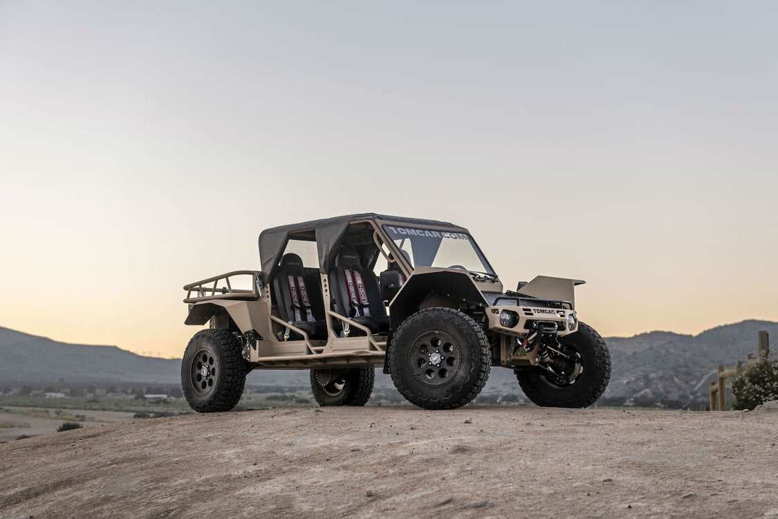 The New Tomcar TX ATV is an Offroading Beast