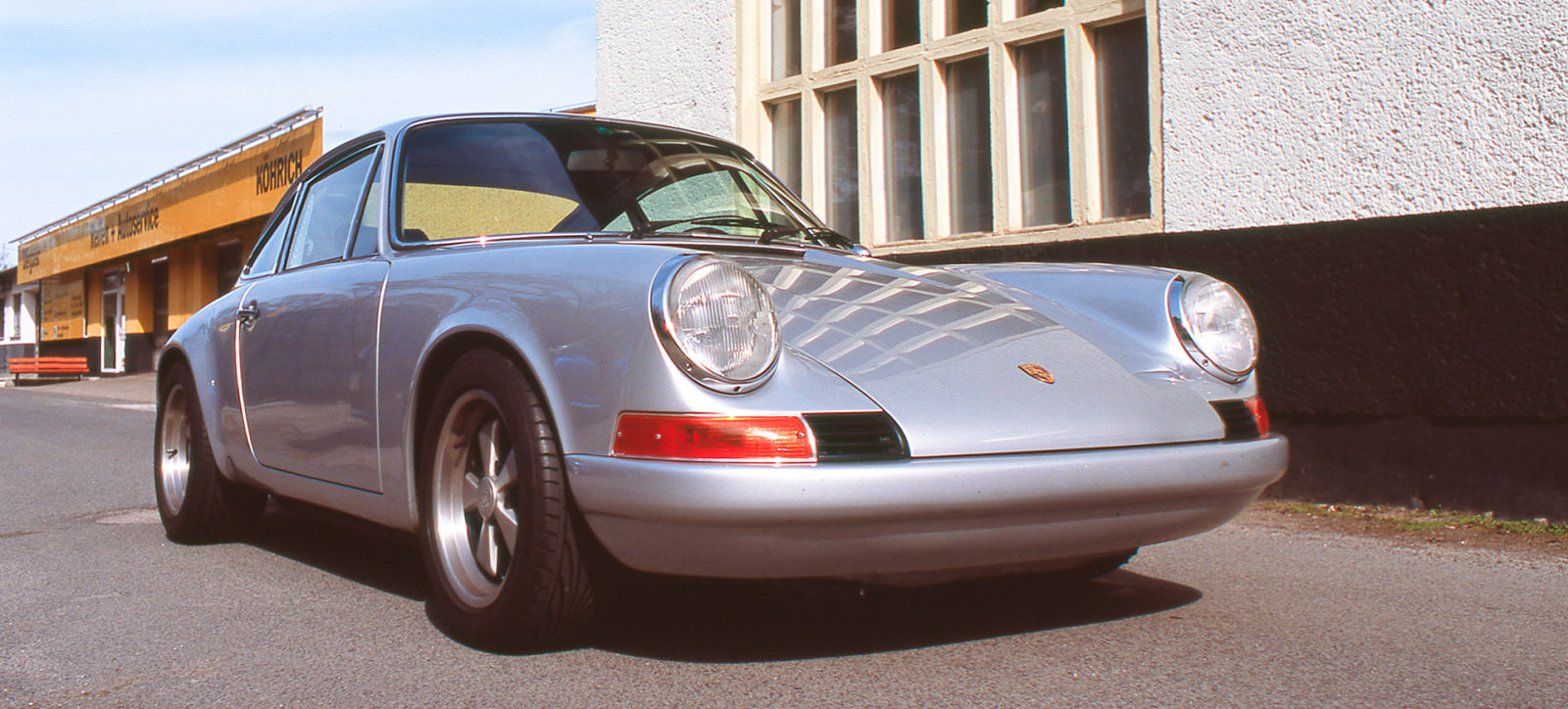 Porsche 911 Backtrack - The world's most secret Porsche