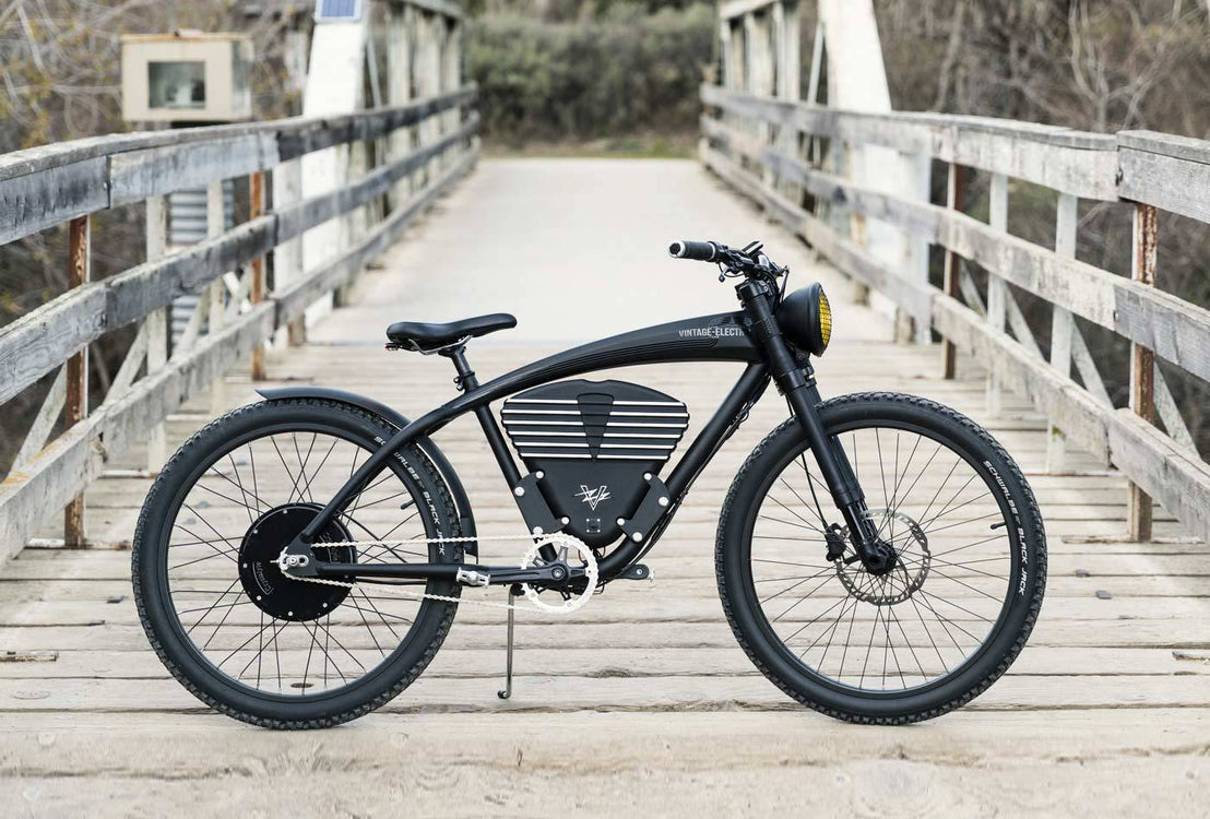 Vintage Electric Scrambler S - Electric Delinquent