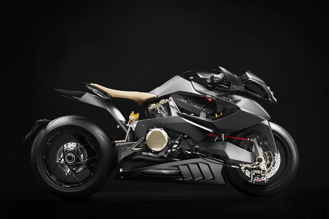 The Italian Vyrus Alyen is an Out-of-This-World Superbike