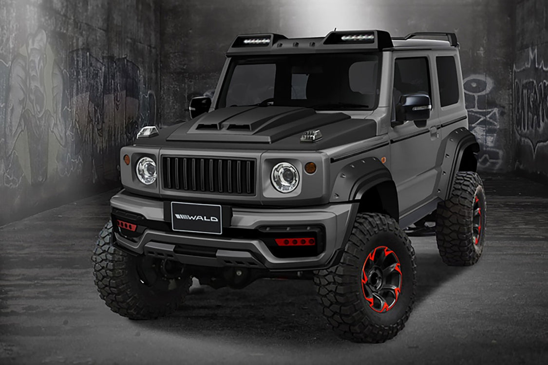 Suzuki Jimny Gets a Mean Character by WALD