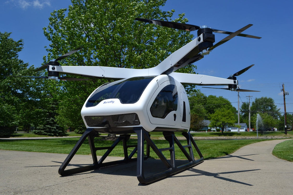 Workhorse SureFly Goes Up in its First Manned Flight