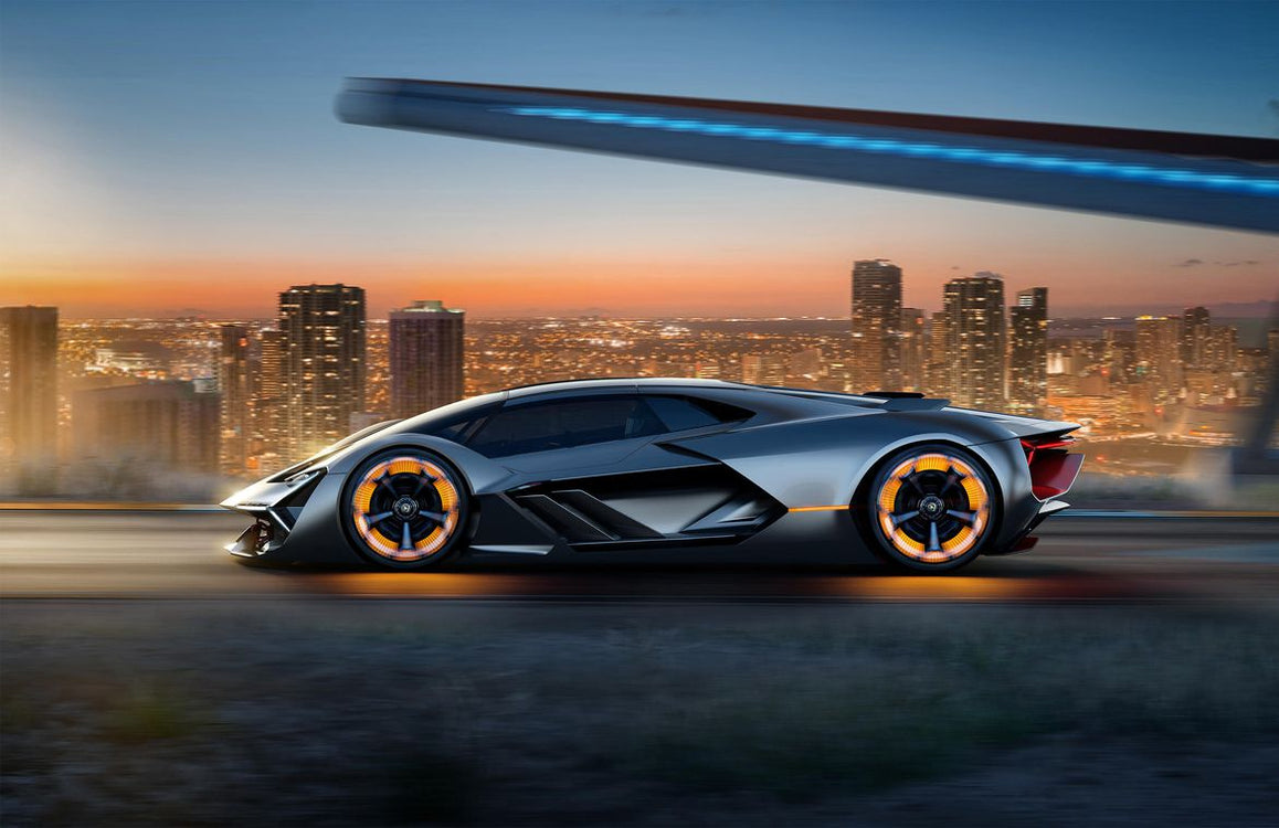 The Lamborghini Terzo Millenio is the Electric Future of Italian Exotics