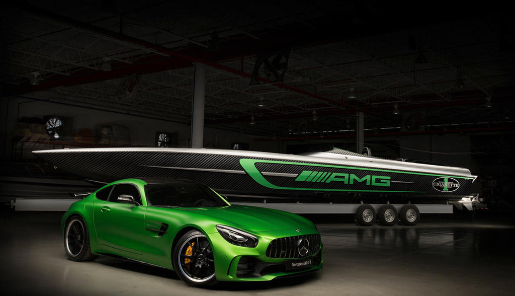 mercedes-amg cigarette racing marauder 2018
