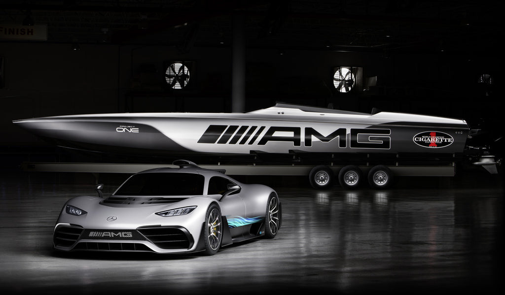 mercedes project one 515 cigarette boat