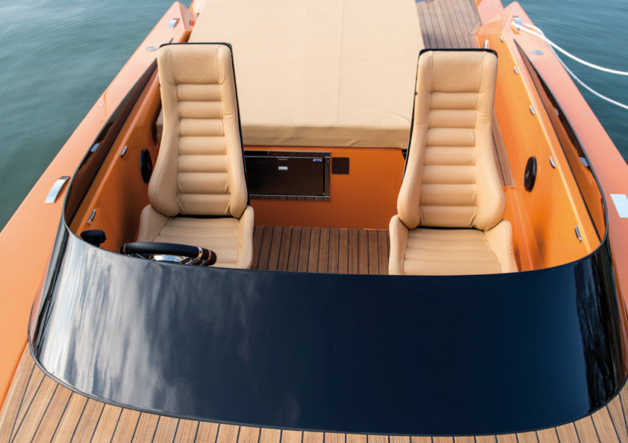 say29 carbon yacht orange interior