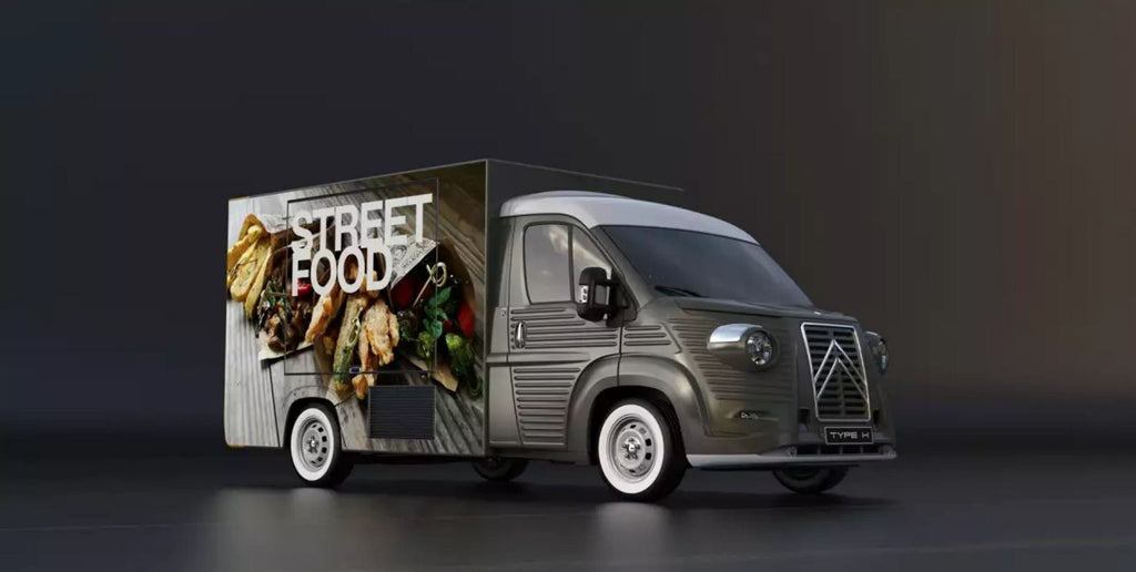 Citroën H Van 70th Anniversary food-truck