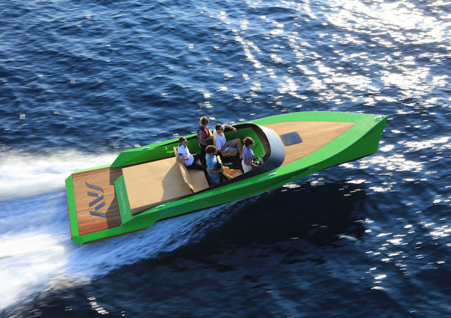 say29 carbon yacht green