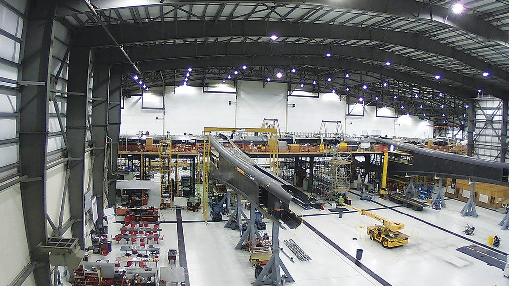 stratolaunch construction scaffolding