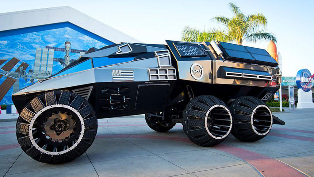 nasa mars rover concept vehicle