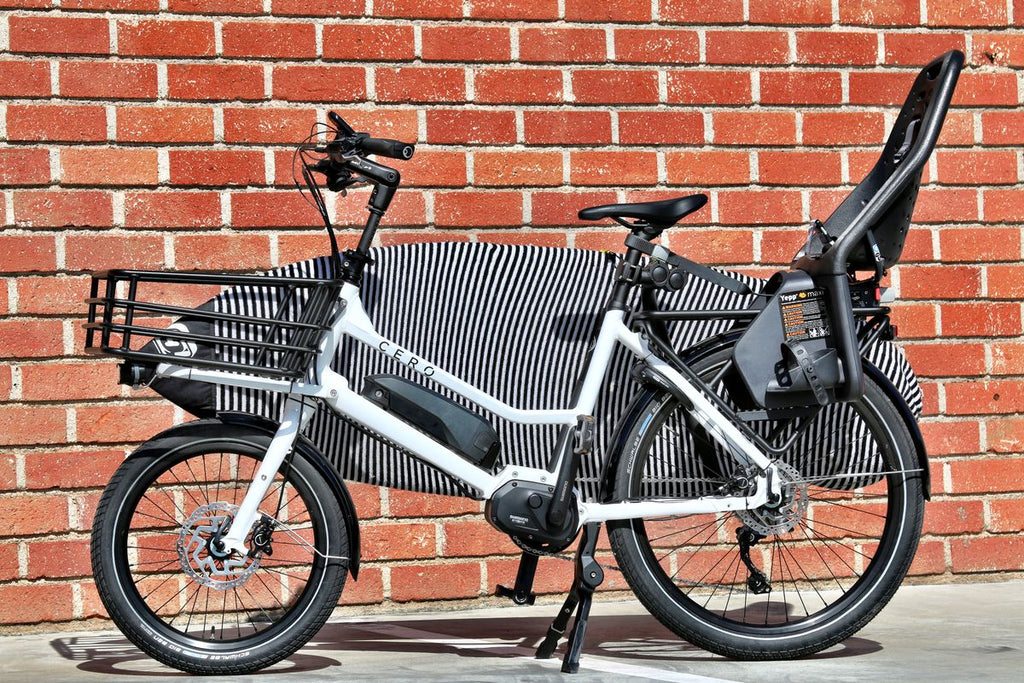 cero-e-cargo-e-bike-storage-surf-rack-child-seat