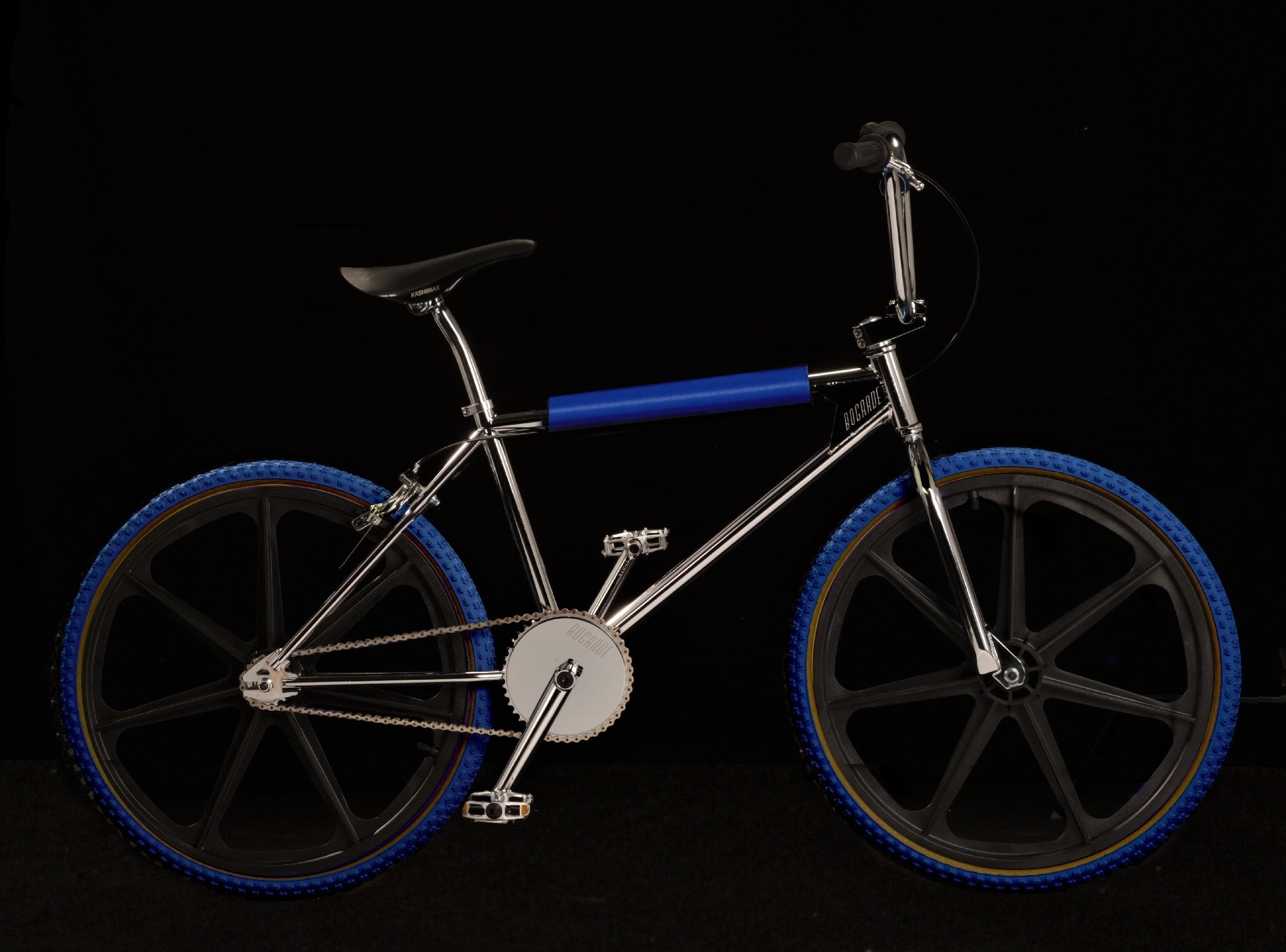 BOGARDE BMX - BLACK/ROYAL BLUE