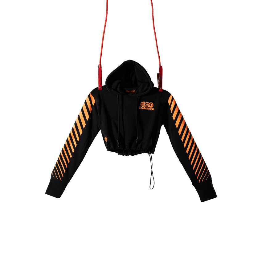 AXLE CROPPED HOODIE