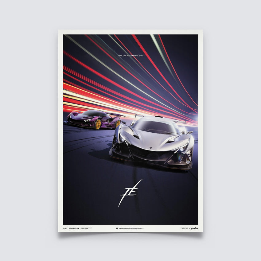 AUTOMOBILIST - APOLLO IE - DUO - POSTER