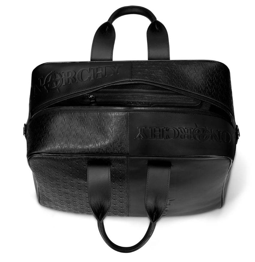 """Should I Go"" Travel Bag - Black"