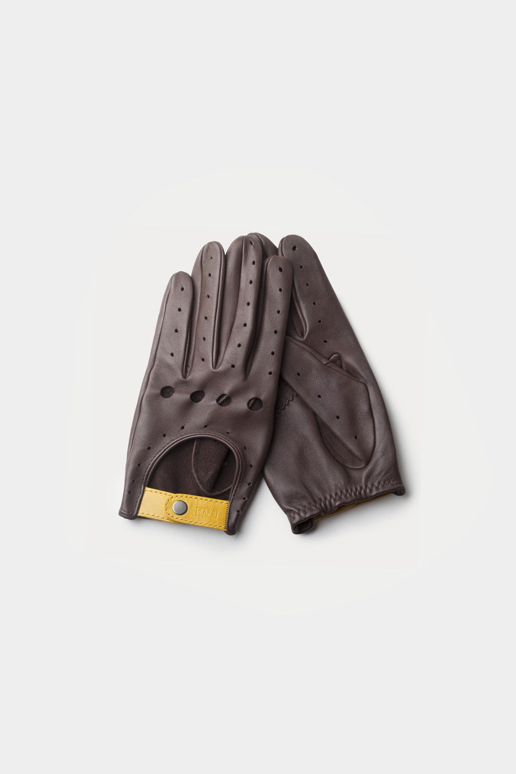 Triton Driving Gloves - Black Coffee