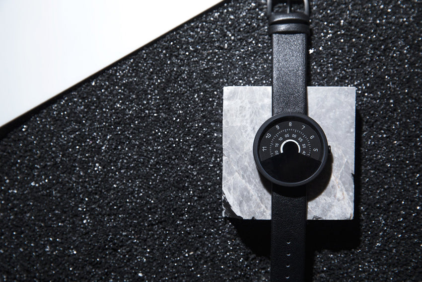 Anicorn Series 000 - Black & White Automatic Watch-Anicorn-TheArsenale