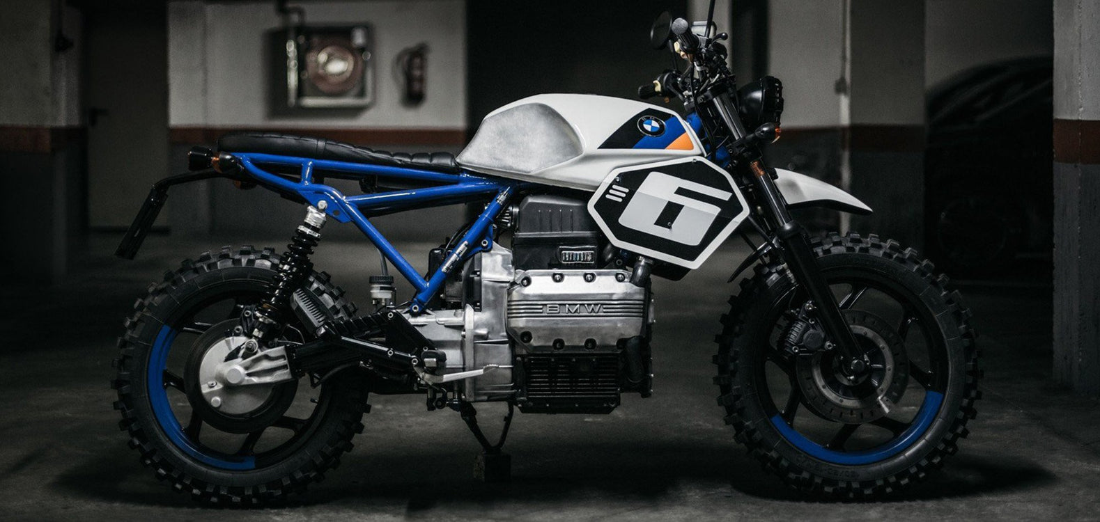 BMW K75 Scrambler-The Foundry Mc.-TheArsenale