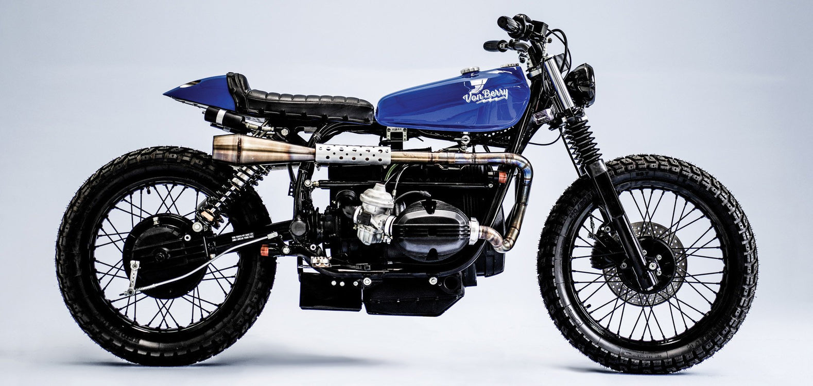 BMW R100 Scrambler #32-Herencia Custom Garage-TheArsenale