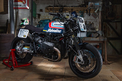 "BMW RnineT ""Valvoline"" by Workhorse Speedshop-Workhorse Speedshop-TheArsenale"