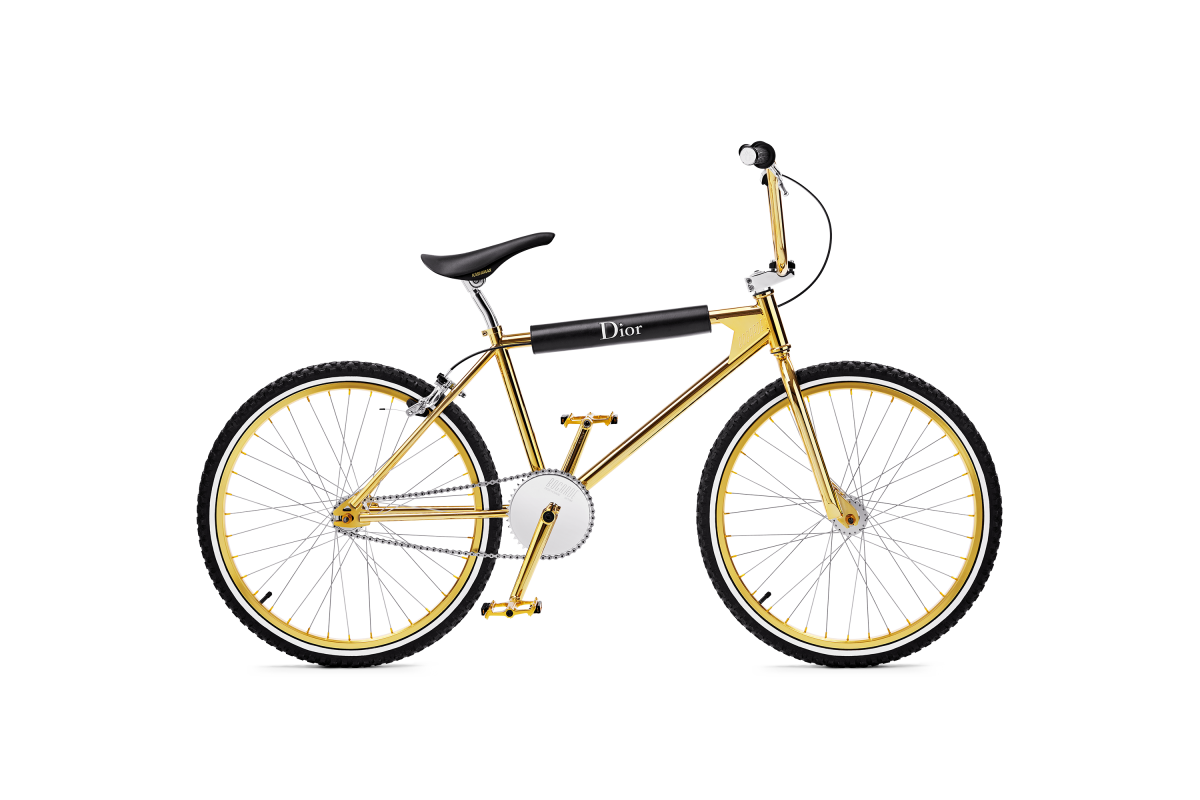 Bogarde X Dior Golden BMX