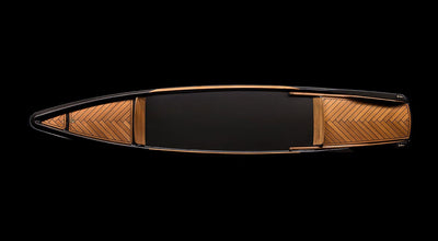 Carbon Fiber Monocoque Paddle Canoe-BorromeodeSilva-TheArsenale