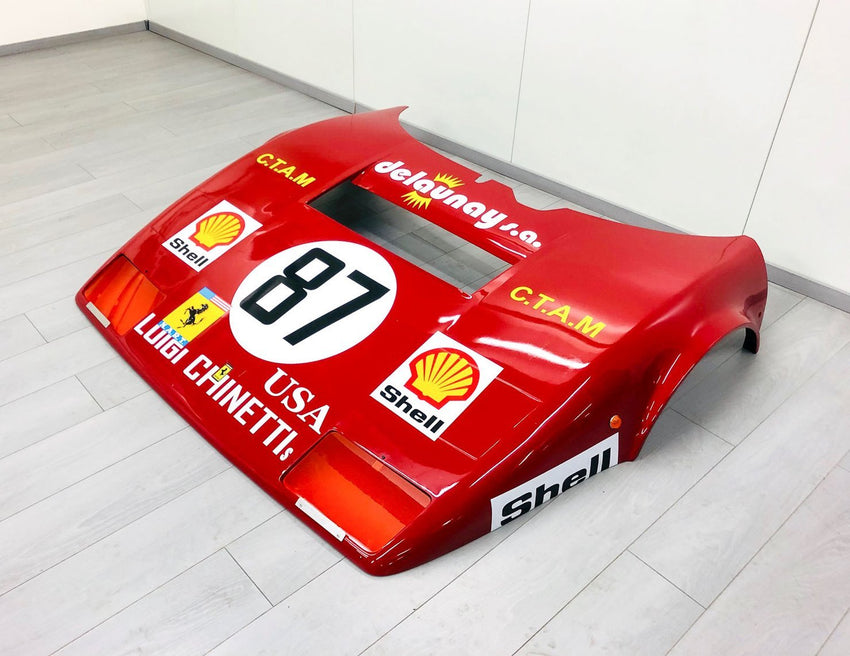 Ferrari 512 BB LeMans - Hood-TheArsenale-TheArsenale