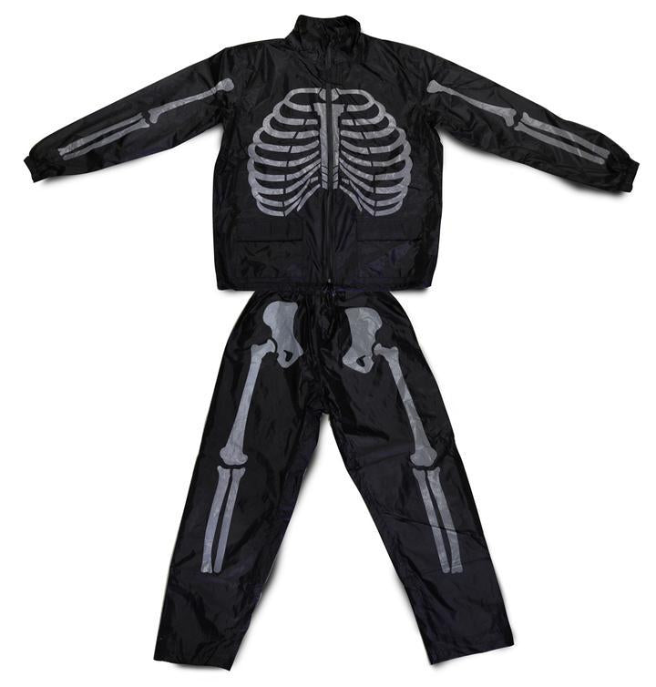 "Fuel ""Day of The Dead"" Rain Suit-Fuel Motorcycles-TheArsenale"