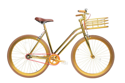 Grand Gold V3 Step-Through With Basket-Martone Cycling-TheArsenale