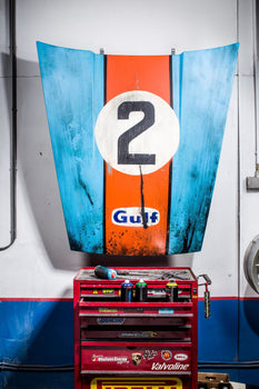 GULF 2 Hood - Memorabilia-After The Race-TheArsenale