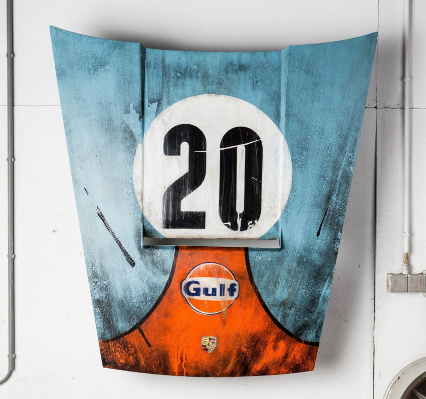 GULF 20 Hood - LE MANS-After The Race-TheArsenale