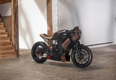 """Hanko"" Yamaha XSR 700-George Woodman Garage-TheArsenale"
