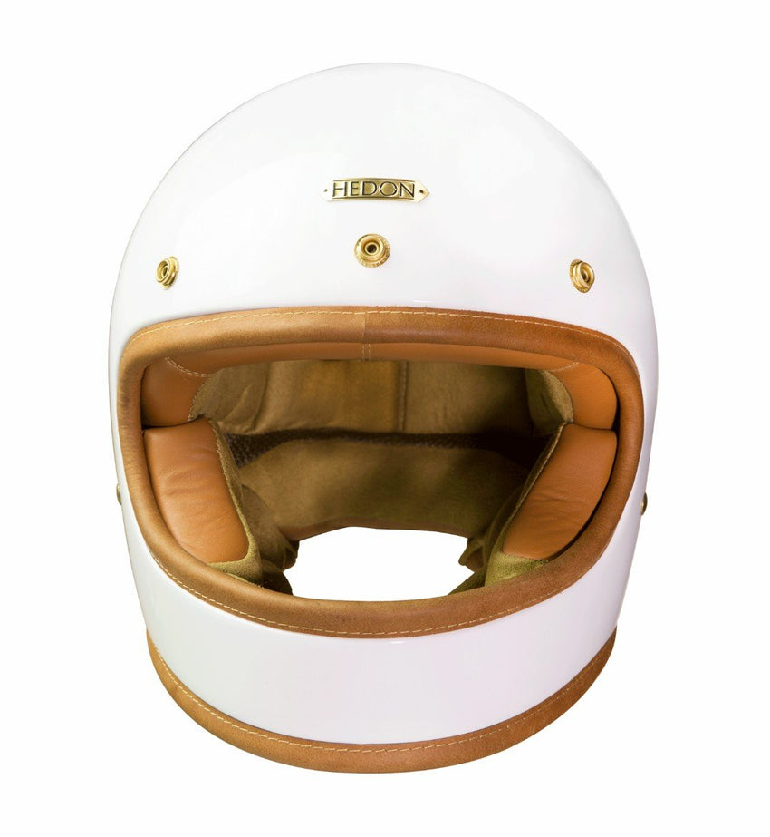 Hedon Knight White Heroine Classic Helmet-Hedon-TheArsenale